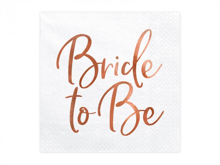 Set 20 Servetele Bride to Be 0