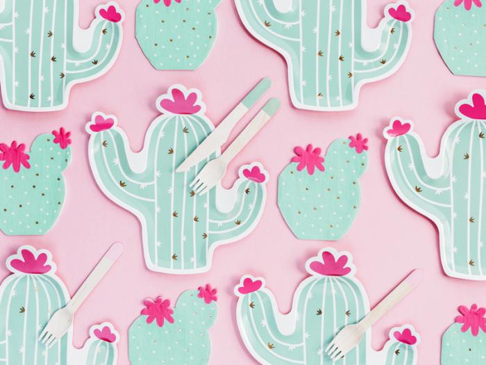Set 20 Servetele Cactus 2