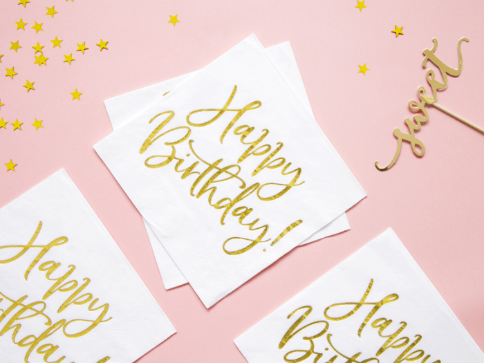 Set 20 Servetele Happy Birthday [3]