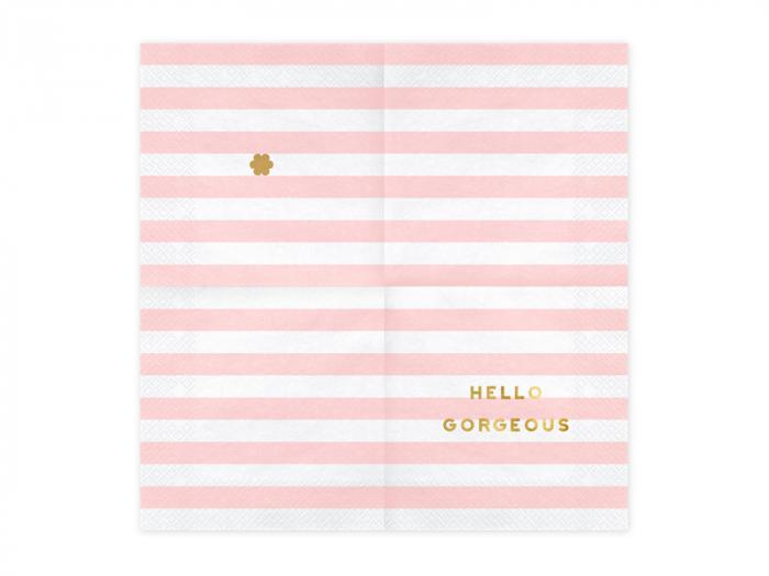 Set 20 Servetele Hello Gorgeous [1]