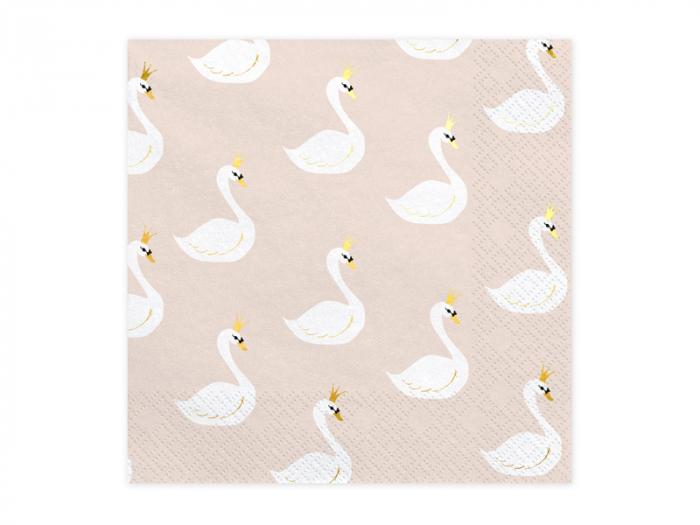 Set 20 Servetele Lovely Swan 0