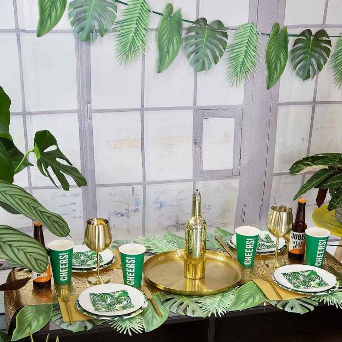 Set 20 Servetele Frunze Palmier 5
