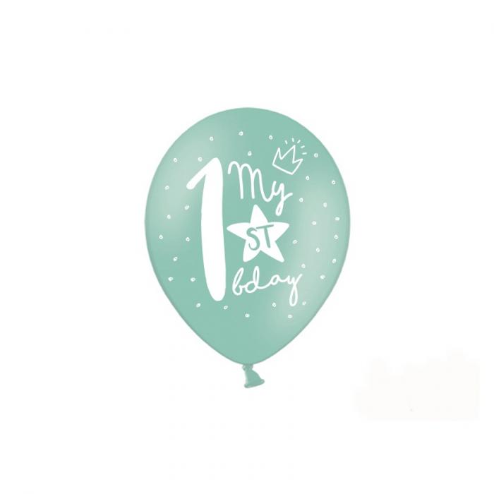 Set 6 Baloane Aniversare 1 an - 30 cm 5