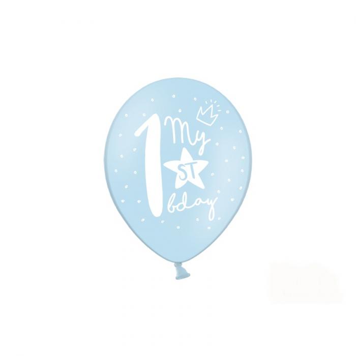 Set 6 Baloane Aniversare 1 an - 30 cm 2