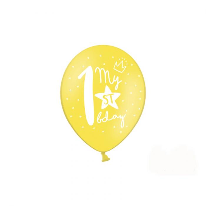 Set 6 Baloane Aniversare 1 an - 30 cm 4