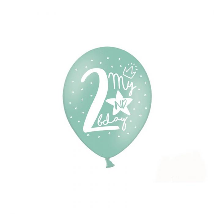 Set 6 Baloane Aniversare 2 ani - 30 cm 1