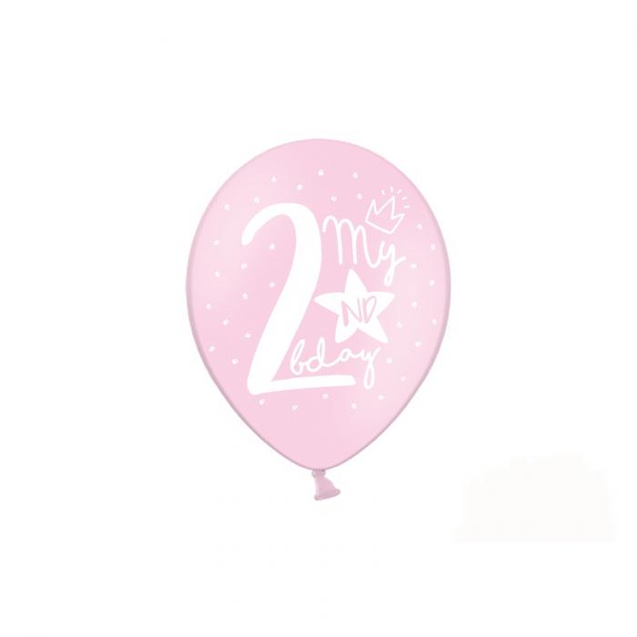 Set 6 Baloane Aniversare 2 ani - 30 cm 3