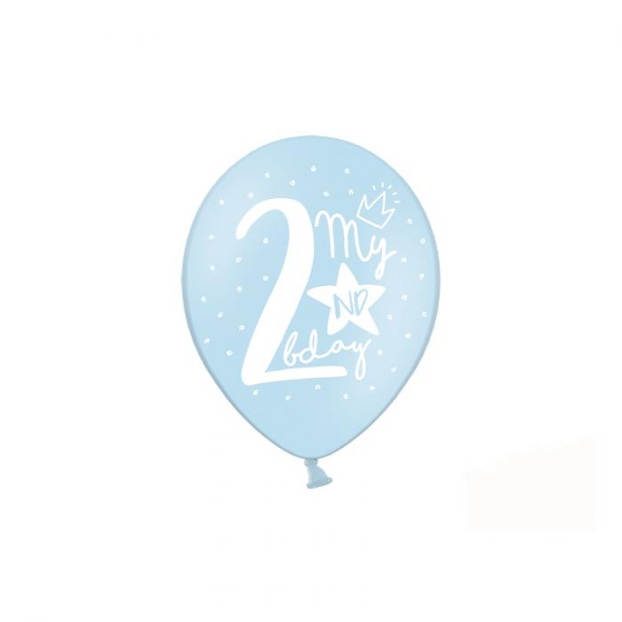 Set 6 Baloane Aniversare 2 ani - 30 cm 4