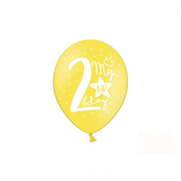 Set 6 Baloane Aniversare 2 ani - 30 cm 2
