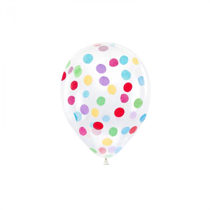 Set 6 Baloane cu Confetti [0]