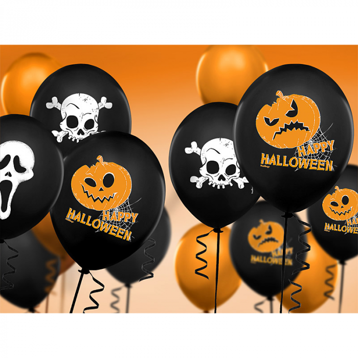 Set 6 Baloane Halloween - 30 cm 2