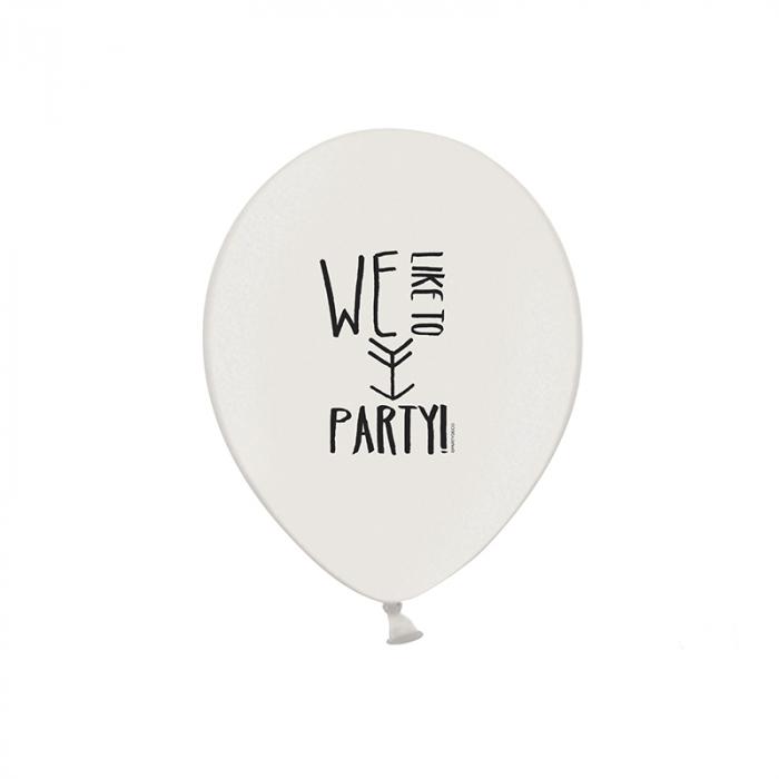 Set 6 Baloane Party - 30 cm 1