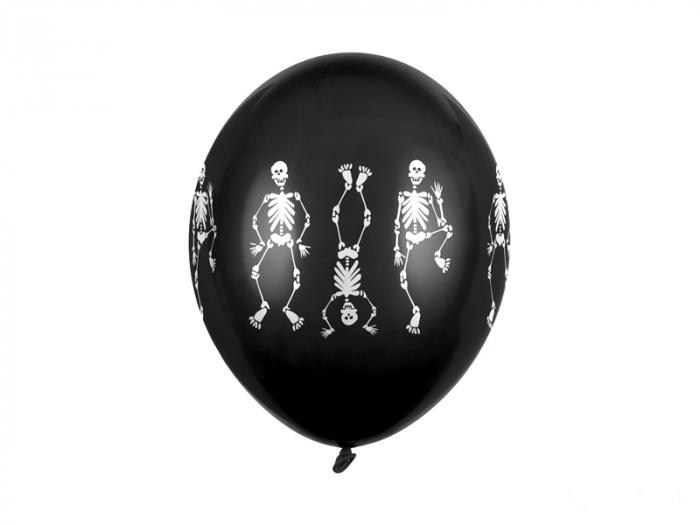 Set 6 Baloane Scheleti - 30 cm [0]