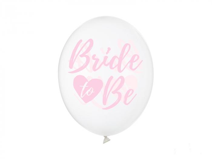 Set 6 Baloane Transparente Bride to Be - 30 cm [0]