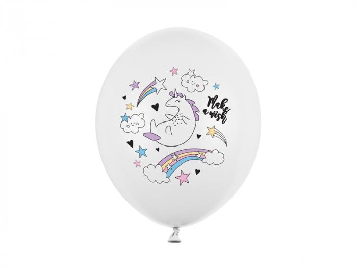 Set 6 Baloane Unicorn - 30 cm [0]