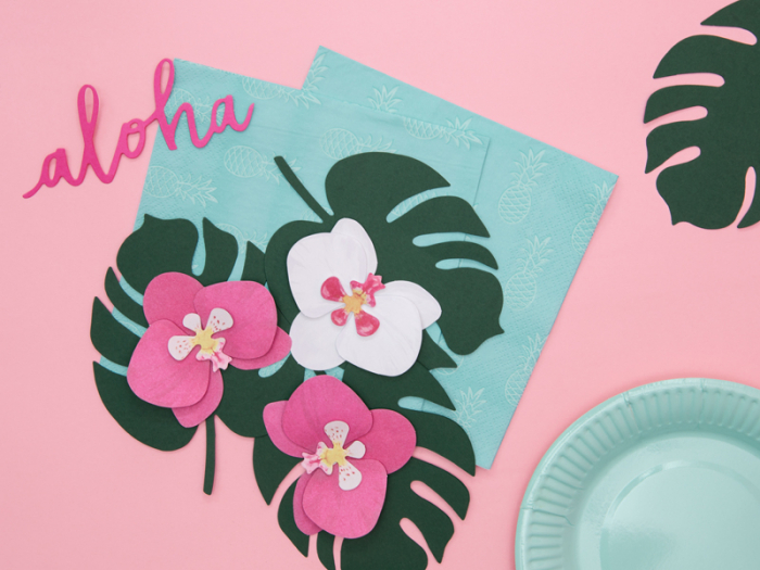 Set 6 Decoratiuni Aloha - Orhidee [1]