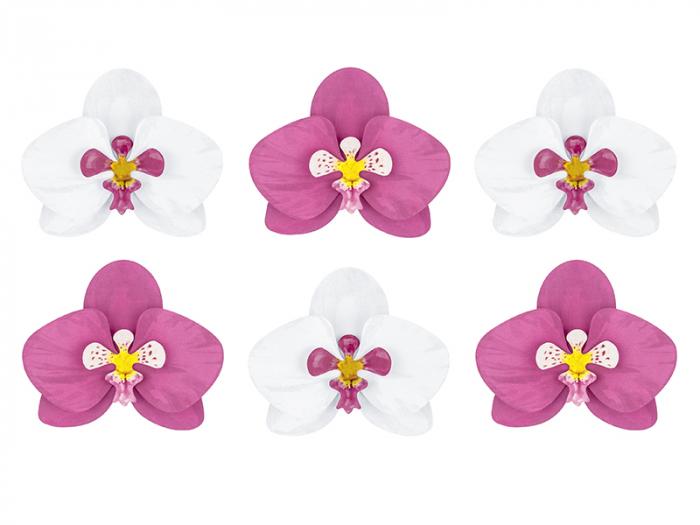 Set 6 Decoratiuni Aloha - Orhidee [0]