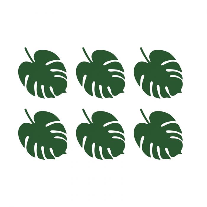 Set 6 Decoratiuni Frunza - Aloha 0