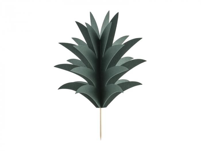 Set 6 Decoratiuni Prajitura - Ananas 0