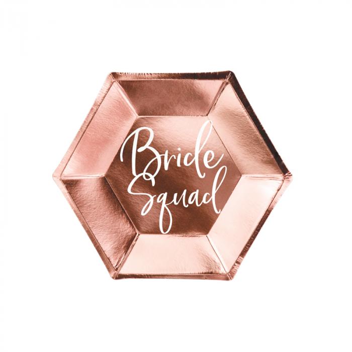 Set 6 Farfurii Bride Squad, 23 cm [0]