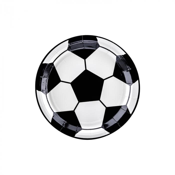 Set 6 Farfurii Fotbal, 18 cm 0