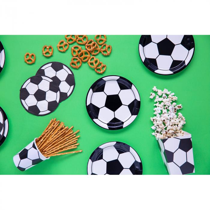 Set 6 Farfurii Fotbal, 18 cm 1
