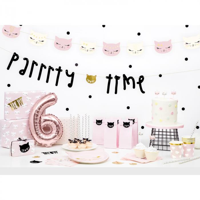 Set 6 Farfurii Pisica, 22 x 20 cm [3]