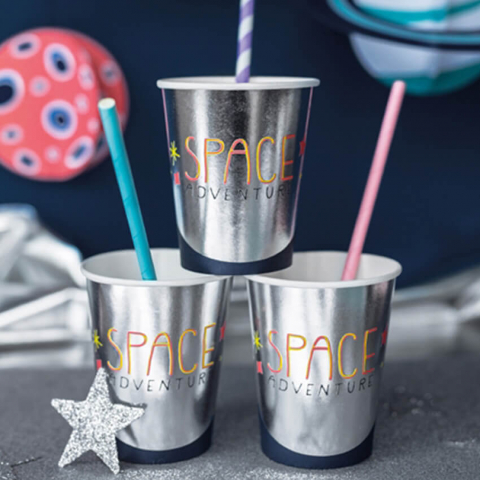 Set 6 Pahare Space Party, 200 ml 1