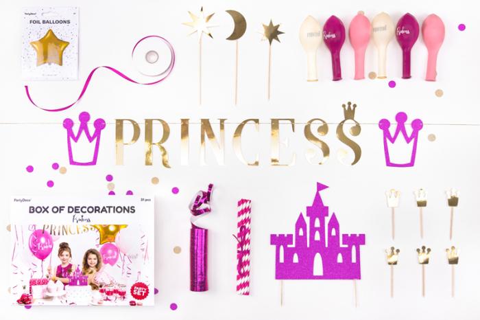 Set Decoratiuni Petreceri - Princess 1