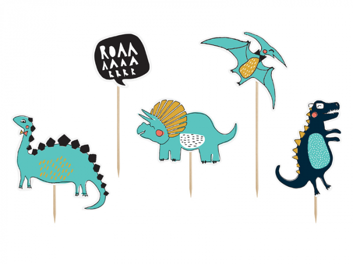 Set Decoratiuni Prajitura - Dinozauri 0