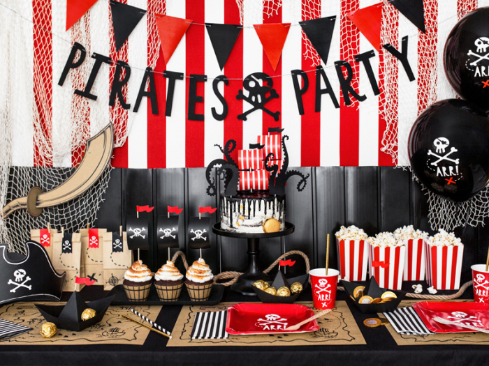Set Decoratiuni Prajitura - Pirat 3