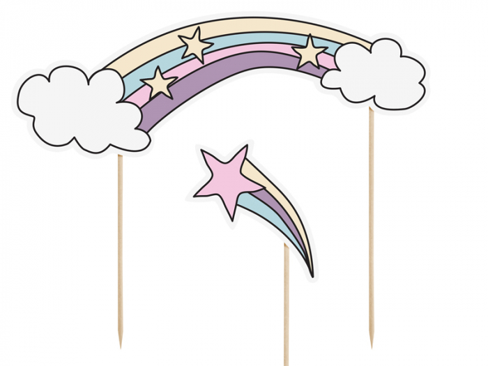 Set Decoratiuni Prajitura - Unicorn 1