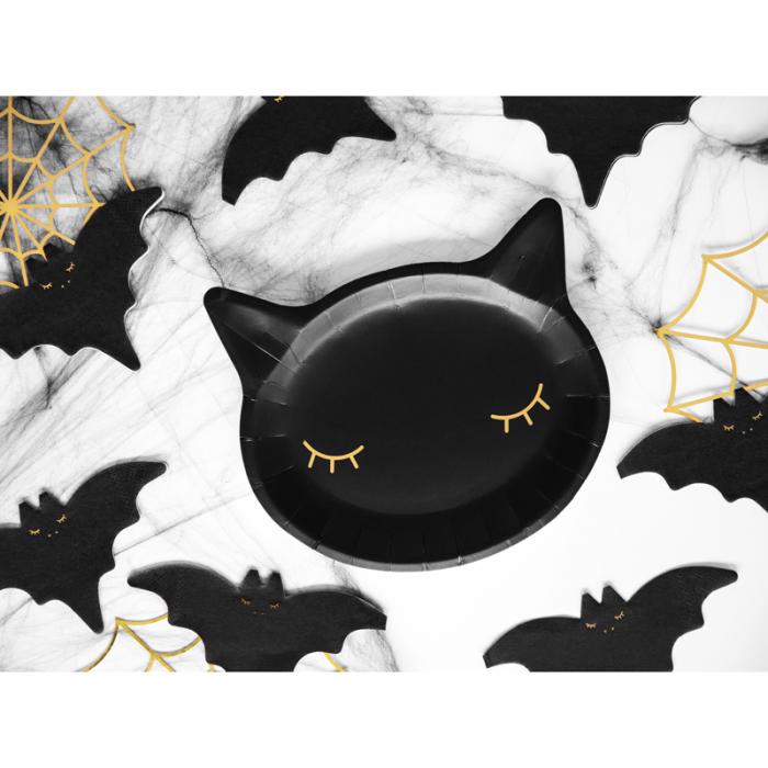 Set Farfurii Cat, negru [1]