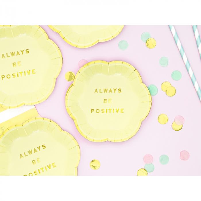 Set farfurii Yummy -Always Be Positive 13 cm [1]