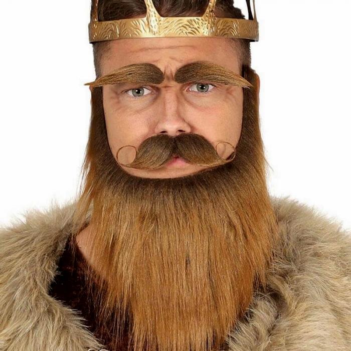 Set Mustata Barba si Sprancene Maro [0]