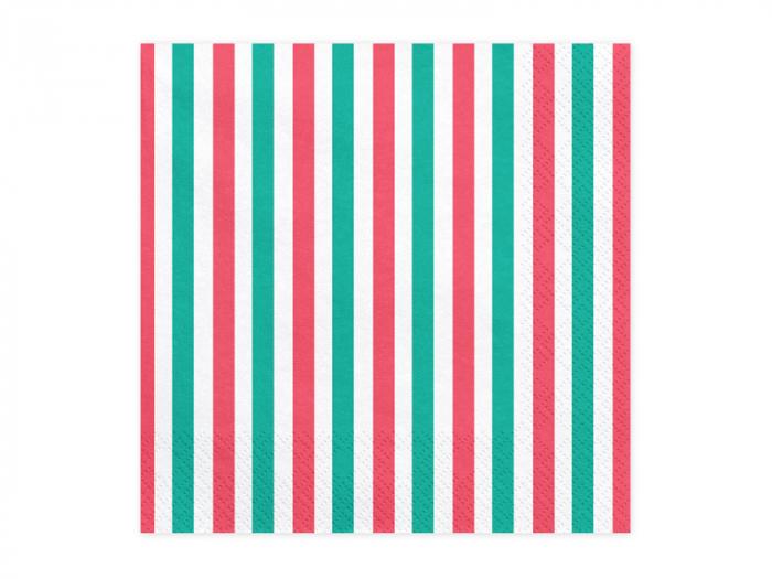 Set 20 Servetele Dungi Colorate [0]