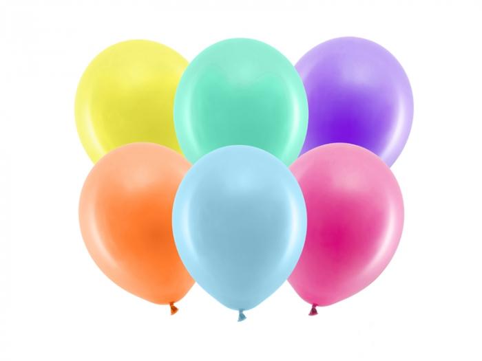 Set 100 Baloane Multicolor Pastel, 23 cm [0]