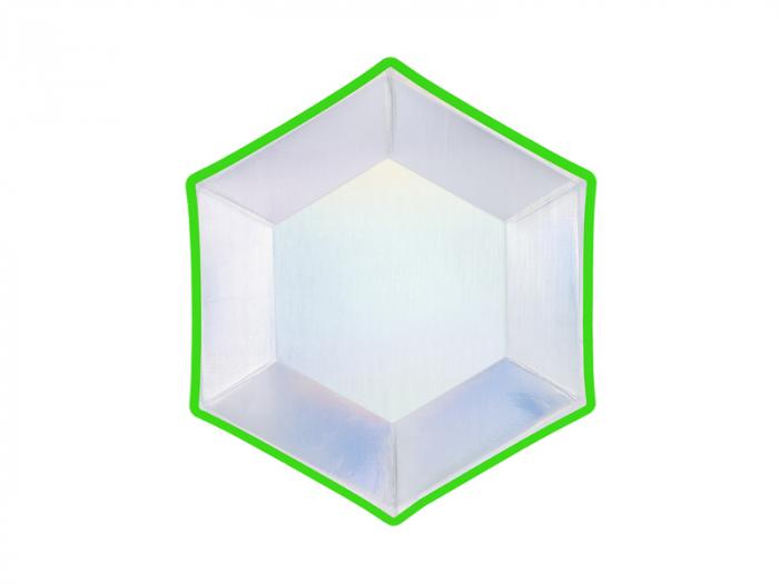 Set 6 Farfurii Holografice, 20 cm 1