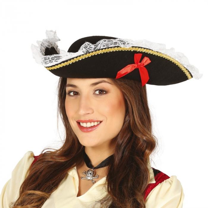 Tricorn femeie pirat [0]