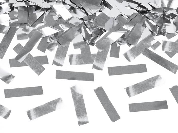 Tun Confetti Argintii, 80 cm [2]