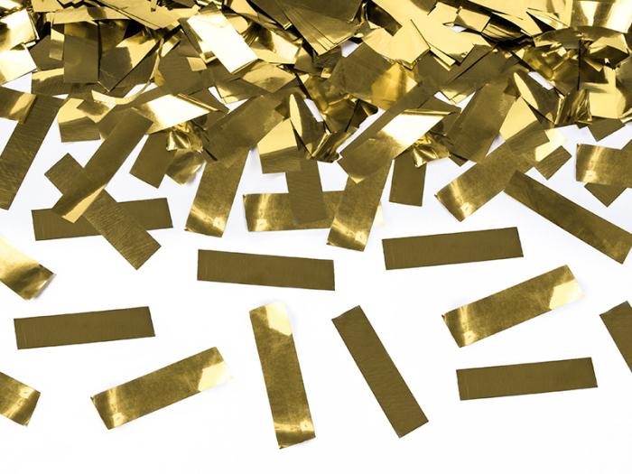 Tun Confetti Aurii 40 cm [2]