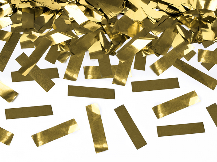 Tun Confetti Aurii 60 cm [2]