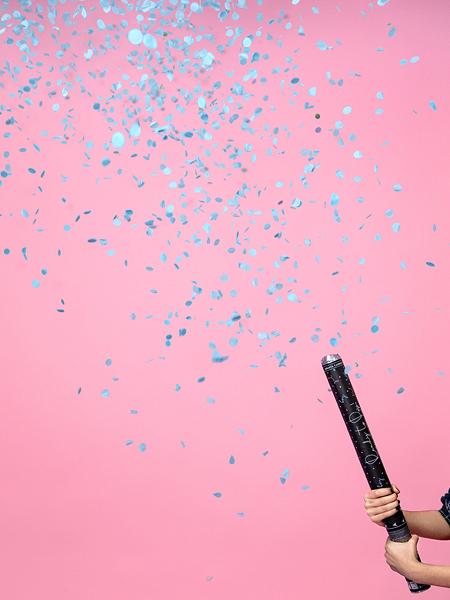 Tun Confetti Gender Reveal Baiat, 60 cm [3]