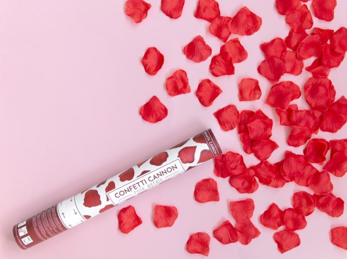 Tun Confetti Petale Rosii, 40 cm [3]