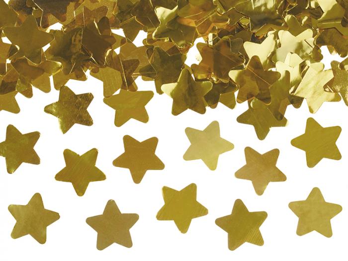 Tun Confetti Stele, Auriu, 40 cm 2