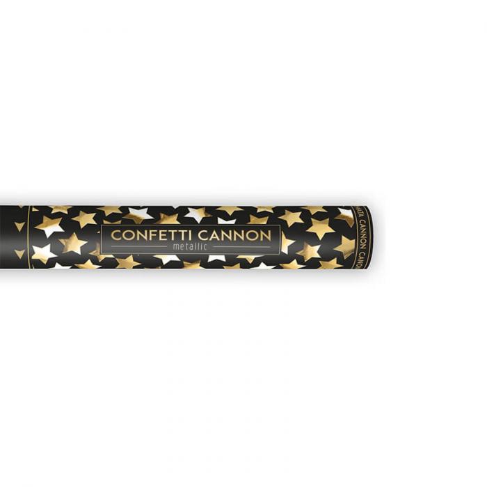 Tun Confetti Stele, Auriu, 40 cm 1