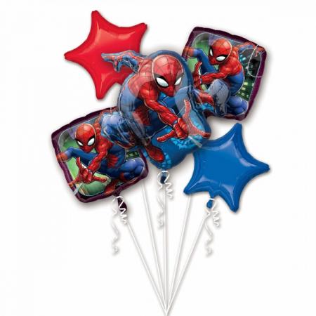 Buchet 5 Baloane Spider-Man