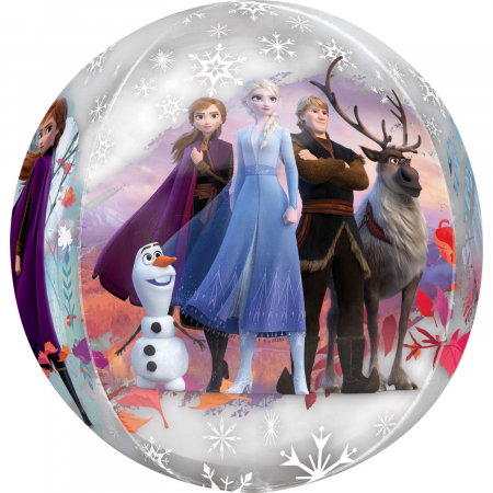Balon Folie Orbz Frozen - 38x40 cm0