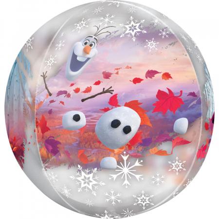 Balon Folie Orbz Frozen - 38x40 cm2