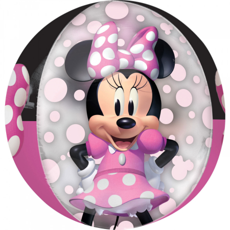 Balon Folie Orbz, Minnie Mouse Forever - 38x40 cm0